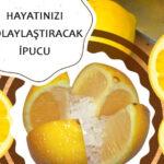 Limonun Üzerine Tuz