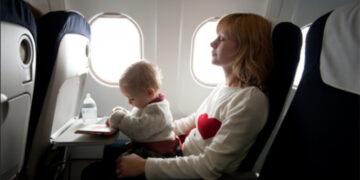 Bebekli Aileye Uçakta Büyük Kolaylık