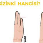 serçe parmağınız