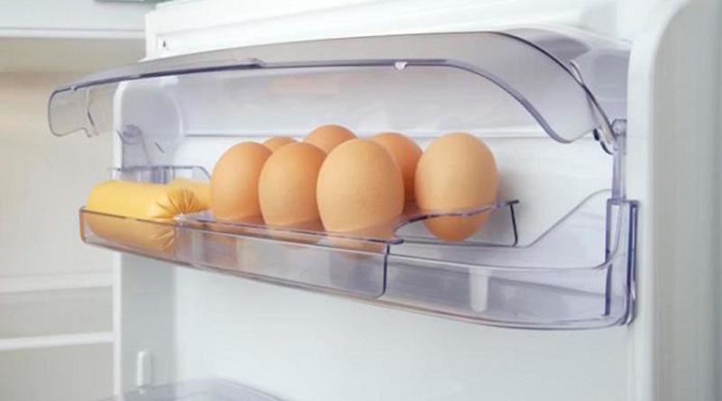 yumurtaları buzdolabı kapağında saklamayın