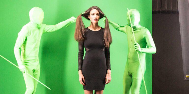 saç reklamlarındaki görüntülerin sırrı!