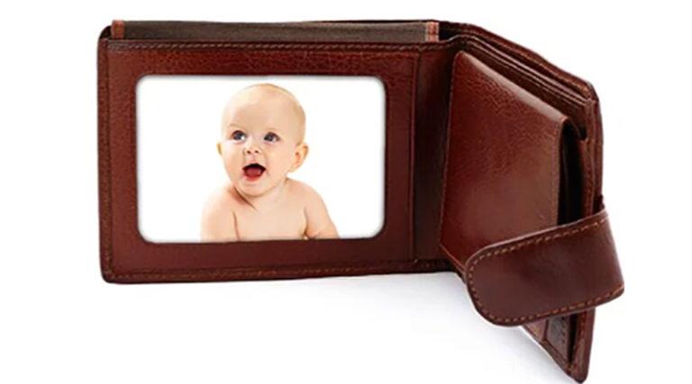 üzdanınızda her zaman bir bebek resmi taşıyın
