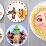 Çocuklar İçin Sanat Eseri Gibi Neşeli Tabaklar