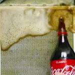 aspiratörü cola'yla temizleyin