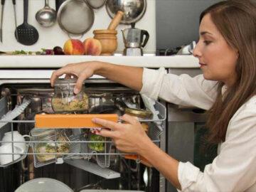 Bulaşık makinesinde yemek pişirmek