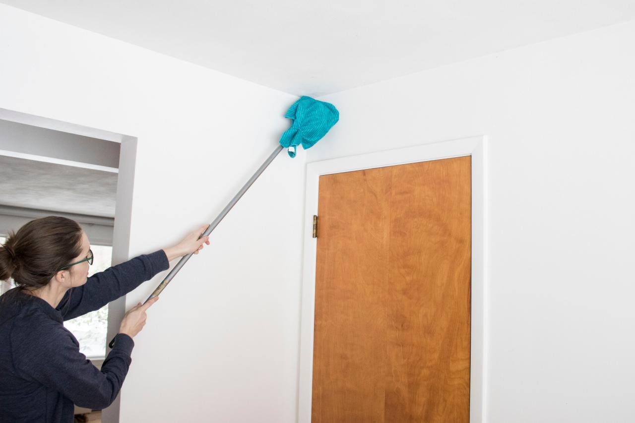 boyalı duvar nasıl temizlenir