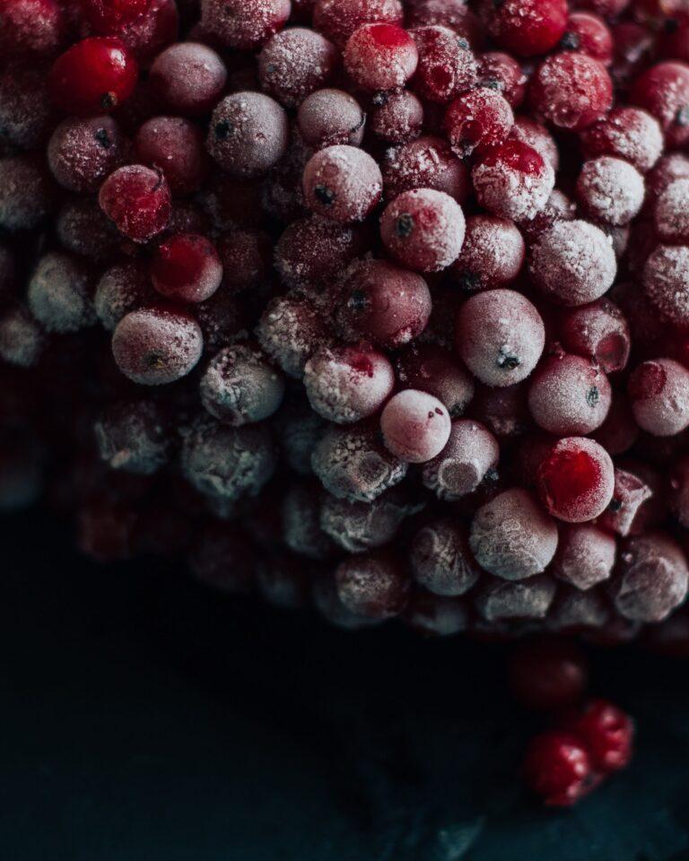 Dondurulmuş Meyve
