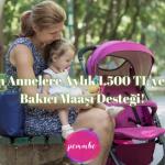 bebek bakıcı maaşı